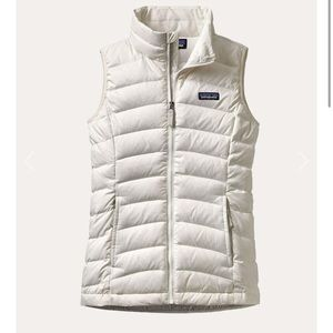 PATAGONIA GIRLS' DOWN SWEATER VEST Size Small